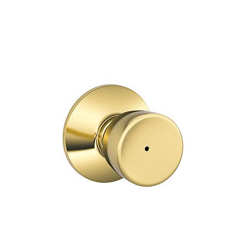 Bell Polished Brass Privacy Knob