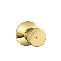 Bell Polished Brass Privacy Knob