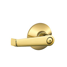 Elan Polished Brass Privacy Lever