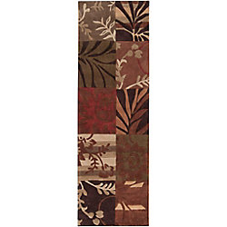 Artistic Weavers Habas Brown 2 ft. 6-inch x 8 ft. Indoor Transitional Runner