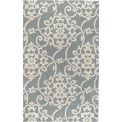 Artistic Weavers Carpette d'intérieur, 2 pi x 3 pi, style transitionnel, rectangulaire, gris Haisnes