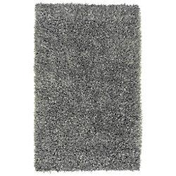 Artistic Weavers Carpette d'intérieur, 8 pi x 10 pi 6 po, style transitionnel, rectangulaire, gris Kelowna