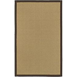 Artistic Weavers Carpette d'intérieur, 9 pi x 10 pi, style transitionnel, rectangulaire, havane Langford