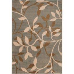 Artistic Weavers Carpette d'intérieur, 5 pi 3 po x 73 pi 6 po, style transitionnel, rectangulaire, gris Leduc