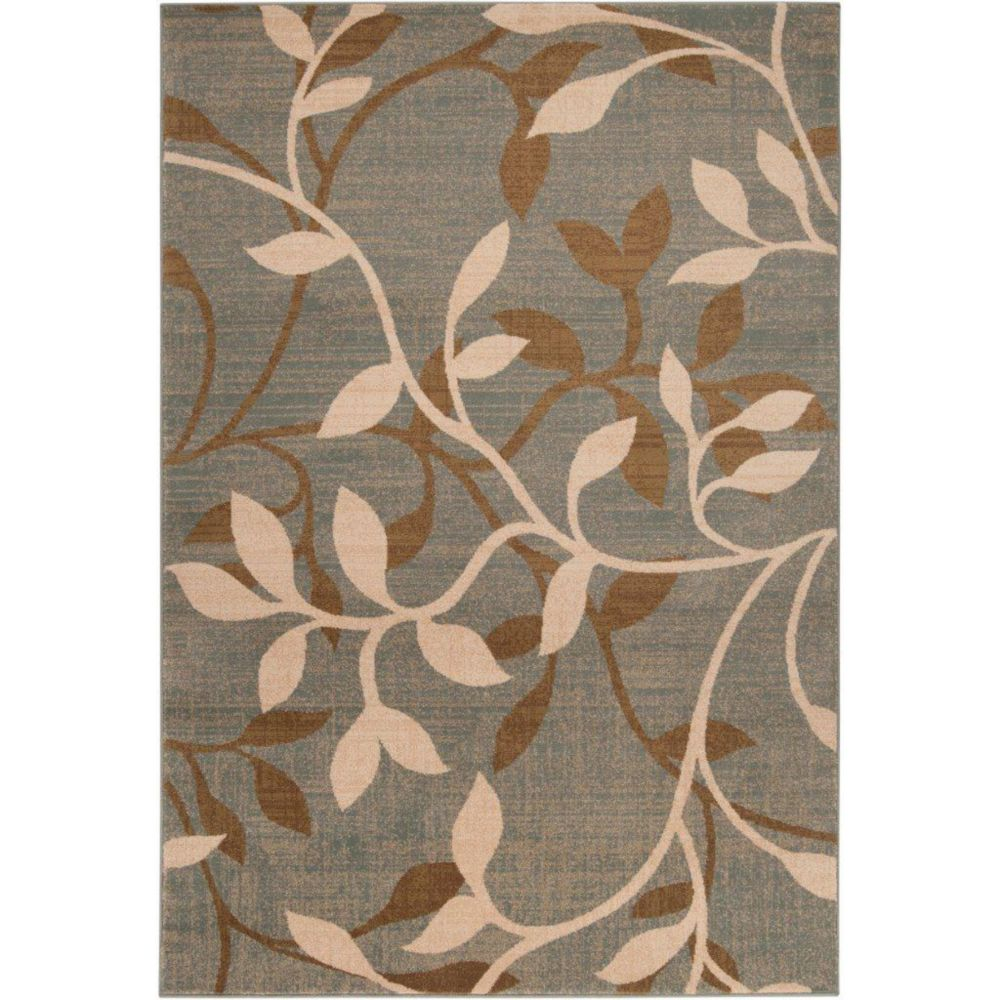 Artistic Weavers Leduc Grey 7 ft. 10-inch x 10 ft. 10-inch Indoor Transitional Rectangular Area Rug