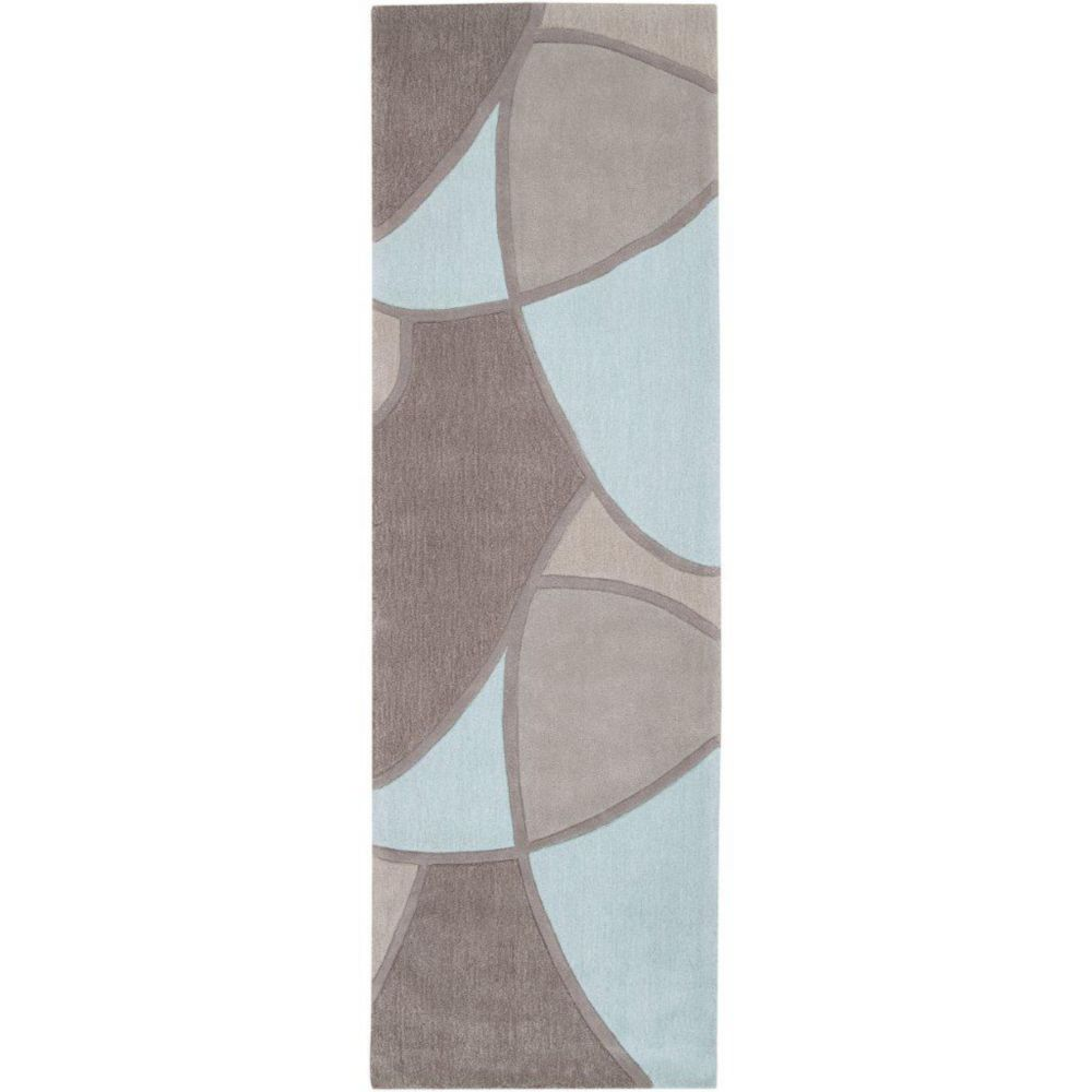 Artistic Weavers Mably Grey 2 ft. 6-inch x 8 ft. Indoor Transitional Runner