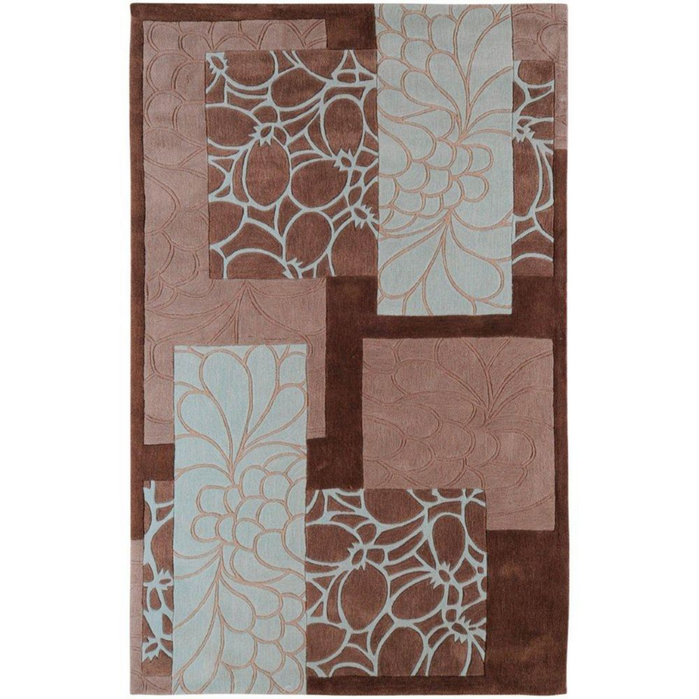 Manitoba Mushroom Polyester Accent Rug - 2 Ft. x 3 Ft. Area Rug