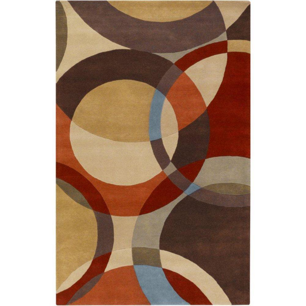 Sablet Chocolate Wool 7 Ft. 6 In. x 9 Ft. 6 In. Area Rug