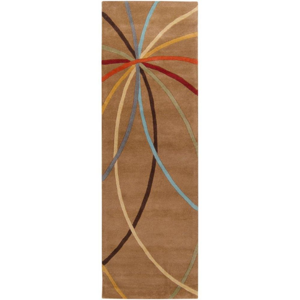 artistic weavers tapis de passage sache caf au lait en laine 2 pi 6 po x 8 pi home depot. Black Bedroom Furniture Sets. Home Design Ideas