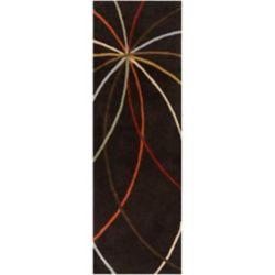 Artistic Weavers Tapis de passage d'intérieur, 3 pi x 12 pi, style contemporain, noir Sadirac
