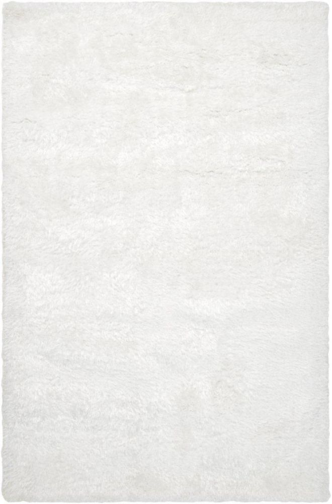 Tapis Talmont blanc en polyester 8 Pi. x 10 Pi.