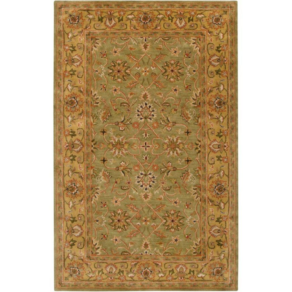 Pabu Fern Wool Accent Rug - 2 Ft. x 3 Ft. Area Rug