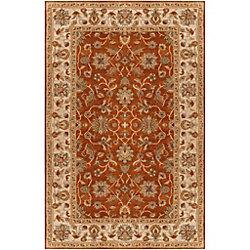 Artistic Weavers Carpette d'intérieur, 12 pi x 15 pi, style traditionnel, rectangulaire, rouge Paillet