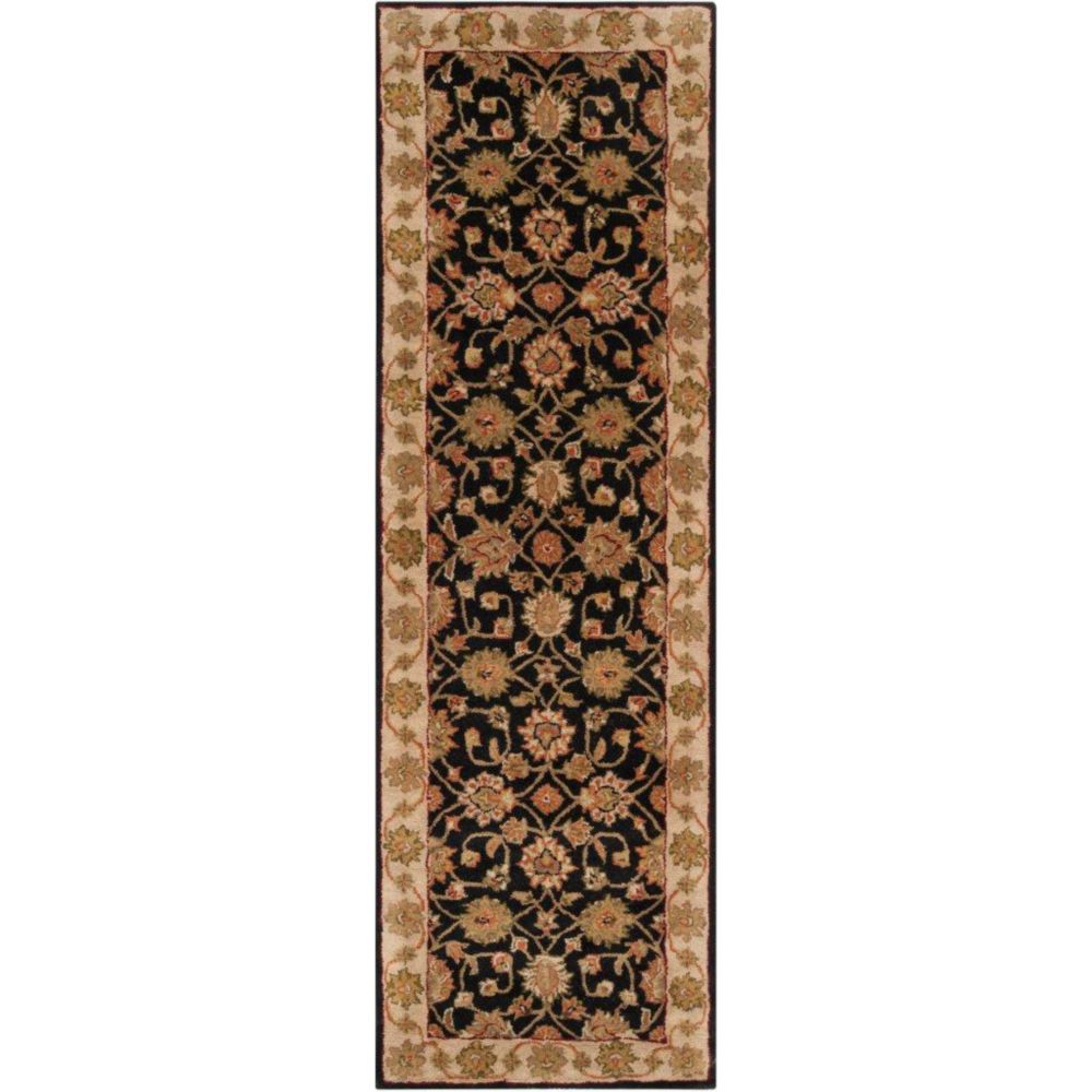 Palaiseau Charcoal Wool Runner - 2 Ft. 6 In. x 8 Ft. Area Rug