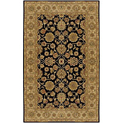 Artistic Weavers Carpette d'intérieur, 4 pi x 6 pi, style traditionnel, rectangulaire, noir Palaiseau