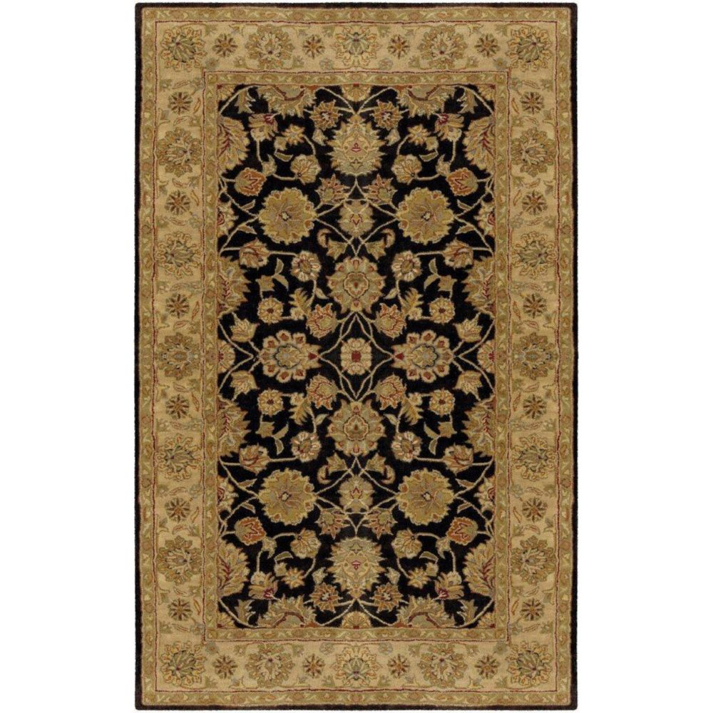 Palaiseau Charcoal Wool  - 5 Ft. x 8 Ft. Area Rug