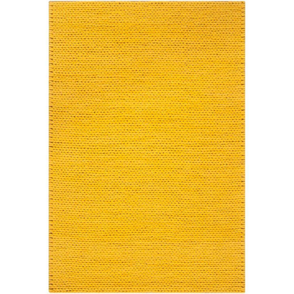 Quebriac Lemon New Zealand Wool 8 Ft. x 10 Ft. Area Rug