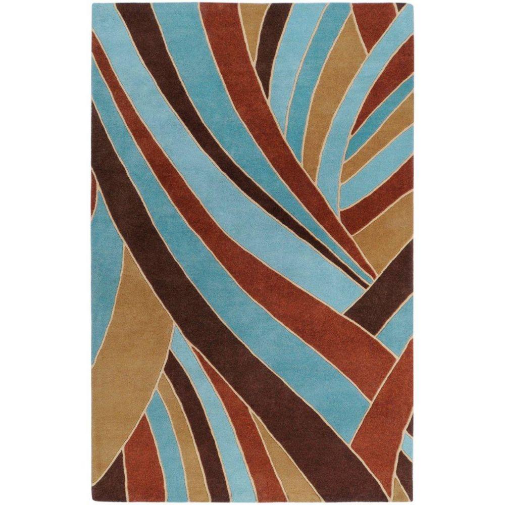 Artistic Weavers  Tapis Querrien ciel en laine 12 Pi. x 15 Pi.