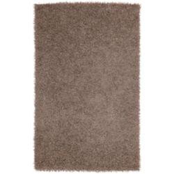 Artistic Weavers Carpette d'intérieur, 9 pi x 10 pi, à poils longs, rectangulaire, brun Quesnel