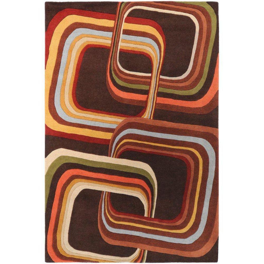 Artistic Weavers Rai Brown 5 ft. x 8 ft. Indoor Contemporary Rectangular Area Rug