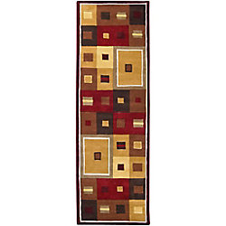 Artistic Weavers Ramatuelle Brown 2 ft. 6-inch x 8 ft. Indoor Contemporary Runner