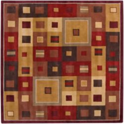 Artistic Weavers Ramatuelle Brown 4 ft. x 4 ft. Indoor Contemporary Square Area Rug