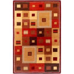 Artistic Weavers Ramatuelle Brown 6 ft. x 9 ft. Indoor Contemporary Rectangular Area Rug