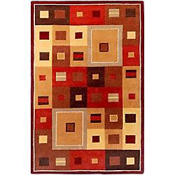 Artistic Weavers Ramatuelle Brown 8 ft. x 11 ft. Indoor Contemporary Rectangular Area Rug
