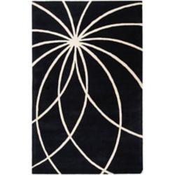 Artistic Weavers Carpette d'intérieur, 12 pi x 15 pi, style contemporain, rectangulaire, noir Rambouillet