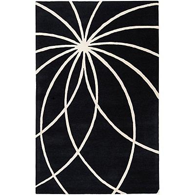 Artistic Weavers Rambouillet Black 6 ft