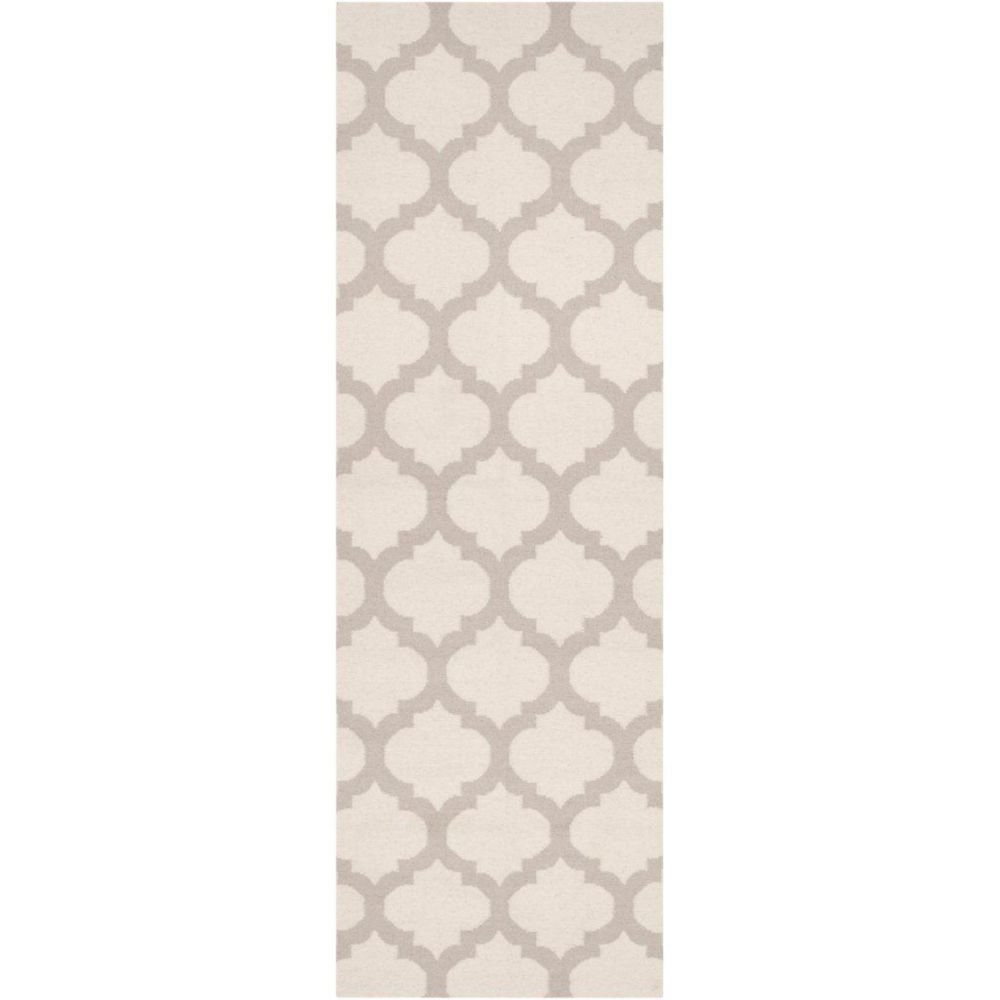 Saffre Oatmeal Wool 2 Ft. 6 In. x 8 Ft. Runner