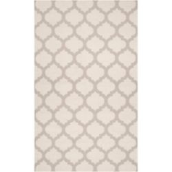 Artistic Weavers Carpette d'intérieur, 3 pi 6 po x 5 pi 6 po, style contemporain, rectangulaire, gris Saffre