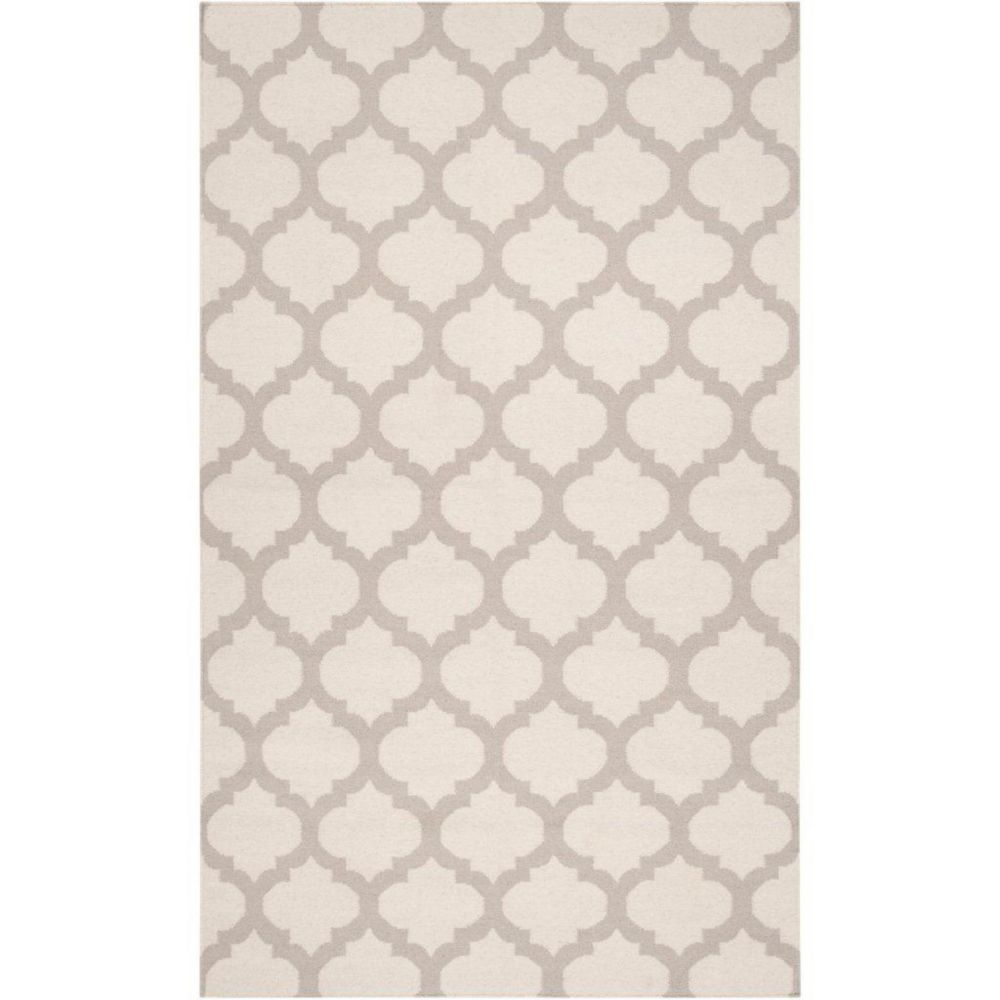 Saffre Oatmeal Wool 5 Ft. x 8 Ft. Area Rug