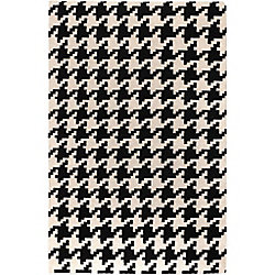 Artistic Weavers Sahurs Black 2 ft. x 3 ft. Indoor Contemporary Rectangular Accent Rug