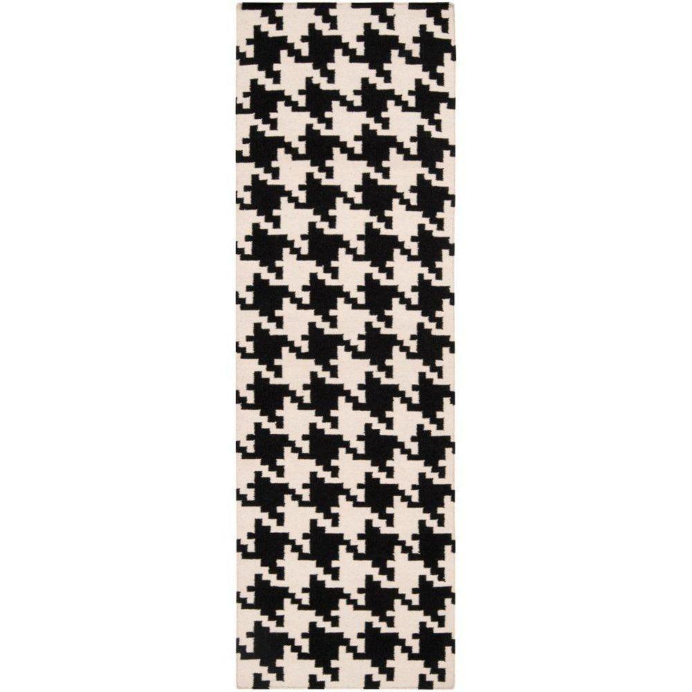 Sahurs Ivory Wool Runner - 2 Ft. 6 In. x 8 Ft. Area Rug