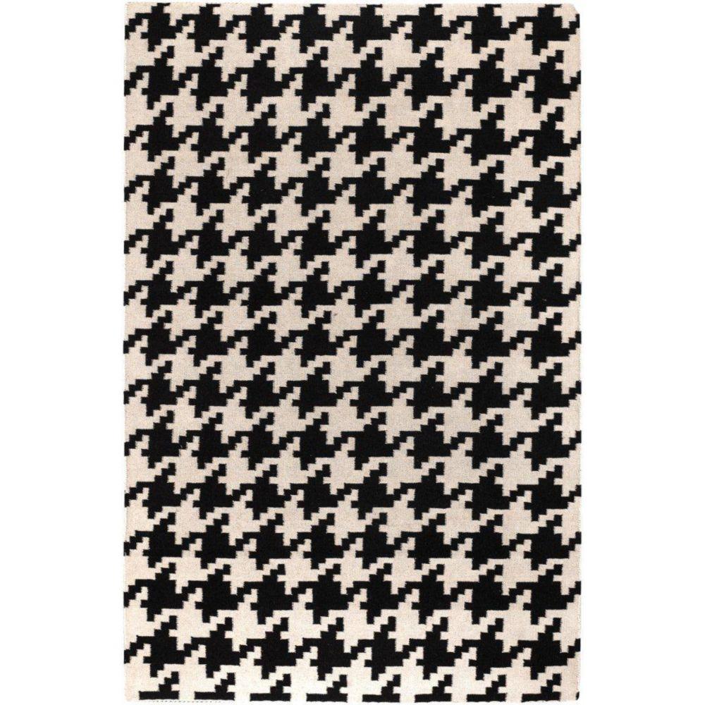 Artistic Weavers Carpette d'intérieur, 8 pi x 11 pi, style contemporain, rectangulaire, noir Sahurs