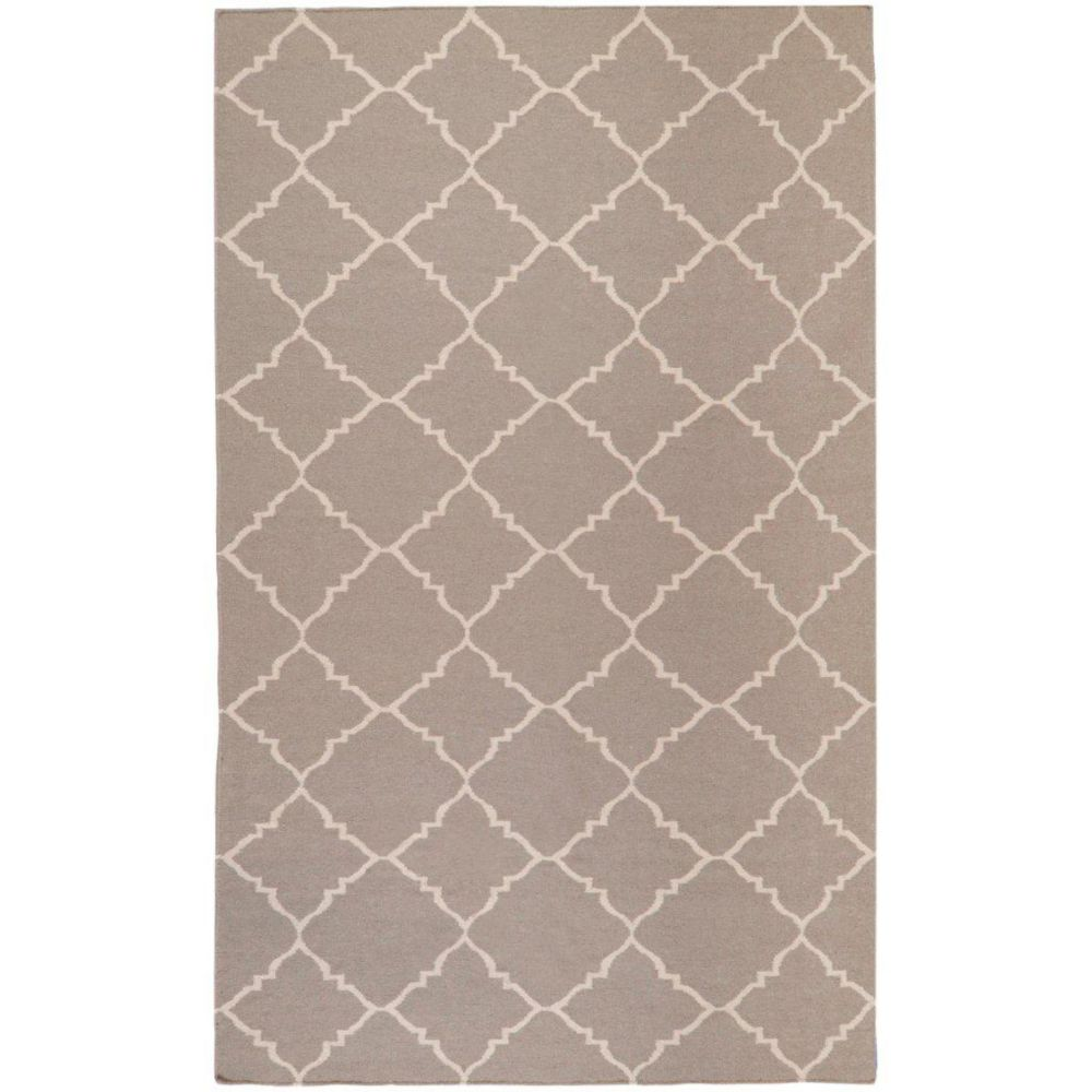 Saignon Gray Wool  - 5 Ft. x 8 Ft. Area Rug