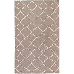 Artistic Weavers Carpette d'intérieur, 5 pi x 8 pi, à poils longs, style contemporain, rectangulaire, havane Saignon