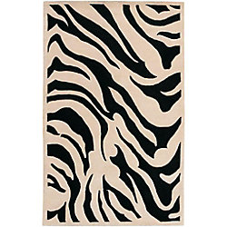 Artistic Weavers Talange Black 8 ft. x 11 ft. Indoor Contemporary Rectangular Area Rug