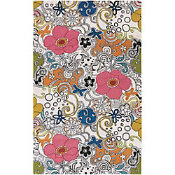 Artistic Weavers Talence Multi-Colour 2 ft. x 3 ft. Indoor Contemporary Rectangular Accent Rug