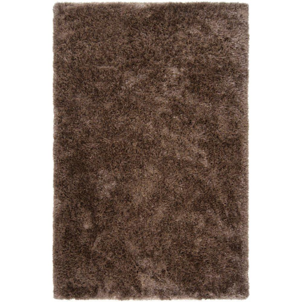 Artistic Weavers Talensac Brown 5 ft. x 8 ft. Indoor Shag Rectangular Area Rug