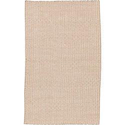 Artistic Weavers Carpette d'intérieur, 3 pi 6 po x 5 pi 6 po, tissage texturé, rectangulaire, havane Vaas
