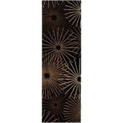 Artistic Weavers Tapis de passage d'intérieur, 3 pi x 12 pi, style contemporain, noir Rannee