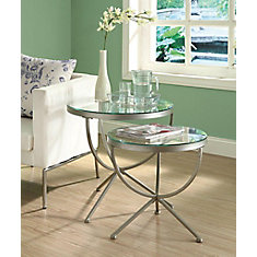 Nesting Table 2pcs Set