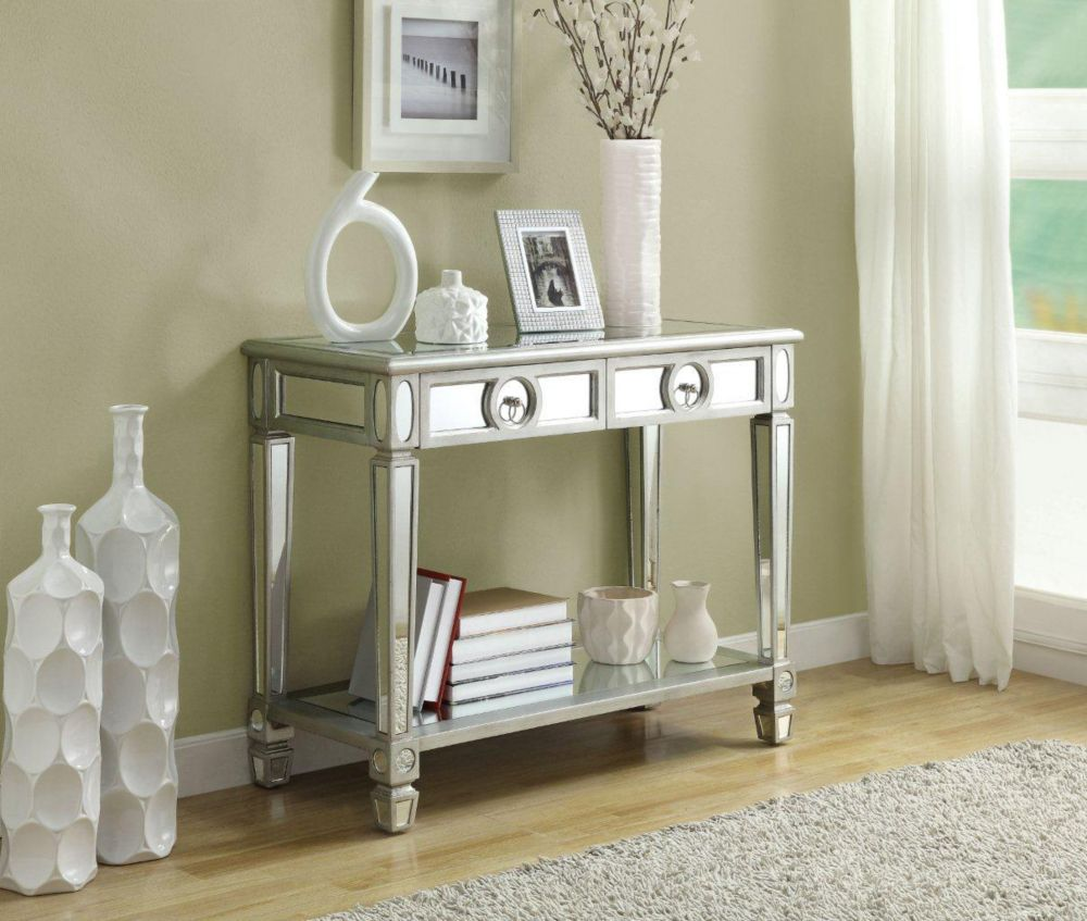 mirror console table. Monarch Specialties 32\ Mirror Console Table