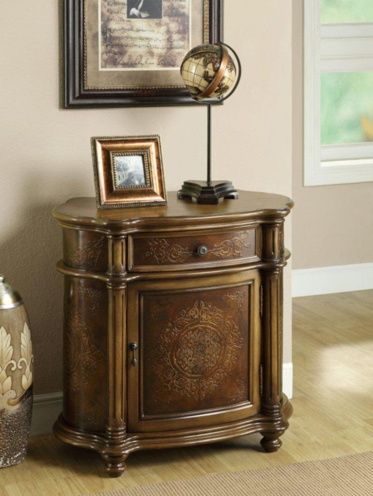 Commode - Brun Pale Traditionnel