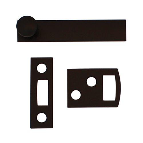 Everbilt 2-1/2 Inch  Iron Black Surface Bolt