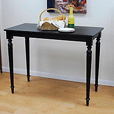Antique Black Hawthorne Bar