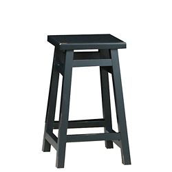 Carolina Cottage Antique Black 24 Inch O'Malley Pub Counter Stool