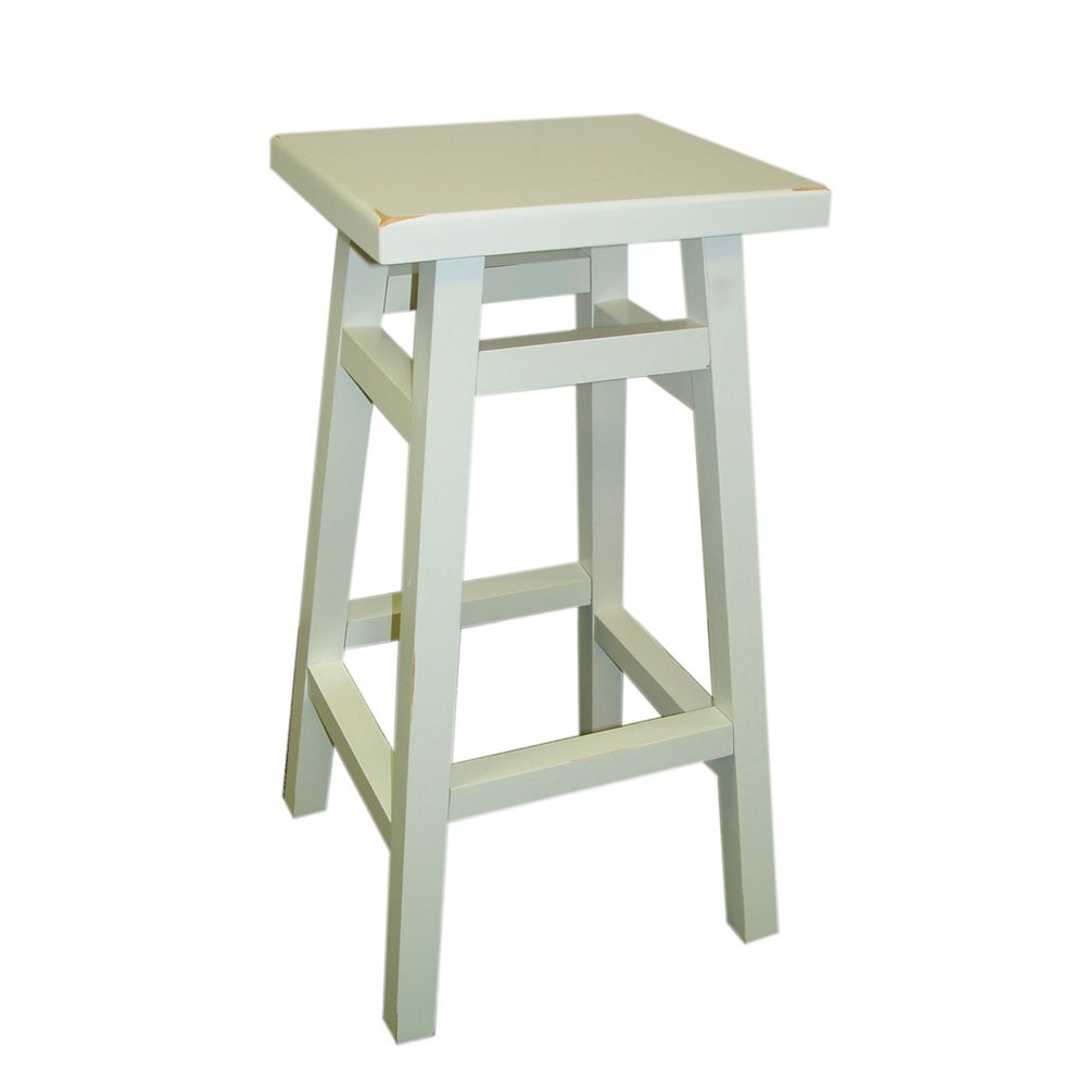 Antique White 24 Inch O'Malley Pub Counter Stool